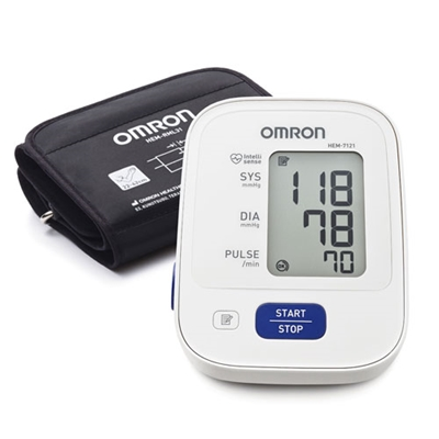 Omron Automatic Blood Pressure Monitor HEM 7121