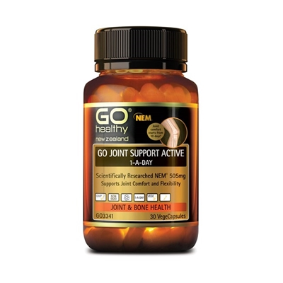 GO Healthy GO Joint Support Active 1-A-Day 30 VCaps