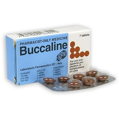 Buccaline 7 Tablet Course