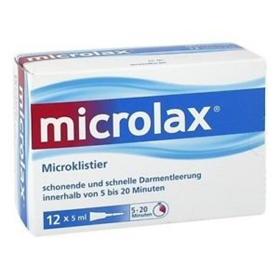 Microlax Constipation Relief 12 x 5ml Enema Tubes